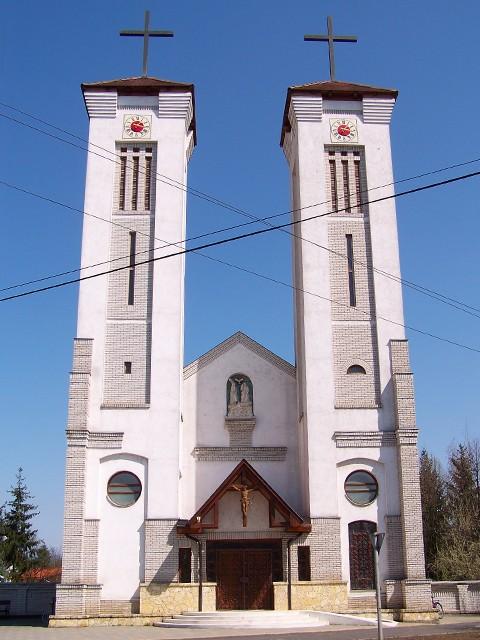 Szent Anna Római katolikus templom , Encs